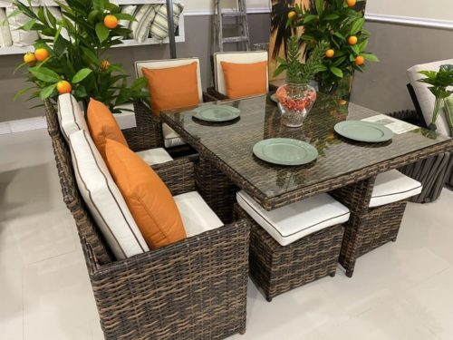 OPE-3003 Small Space Saver by Outdoor Patio Emporium Miami