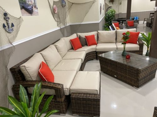 Outdoor sectional living set | Outdoor Patio Emporium Miami
